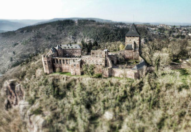 Burg Nideggen by AerialPeople
