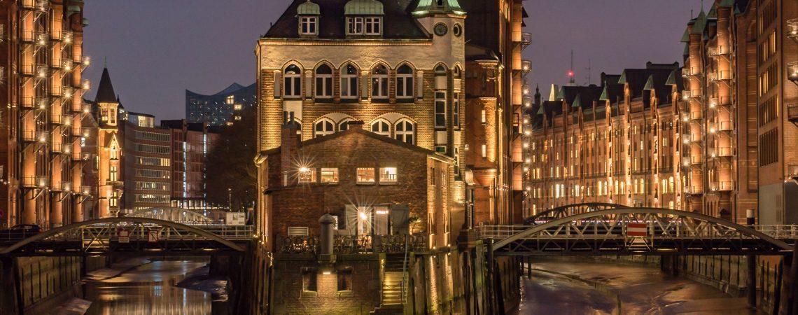 Wasserschloss, Hamburg Hafen, Speicherstadt
