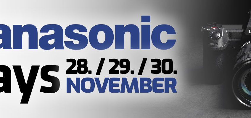 PANASONIC DAYs 28. / 29. / 30. November in Stuttgart