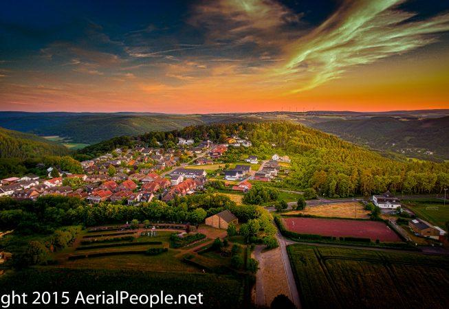 Nideggen by AerialPeople