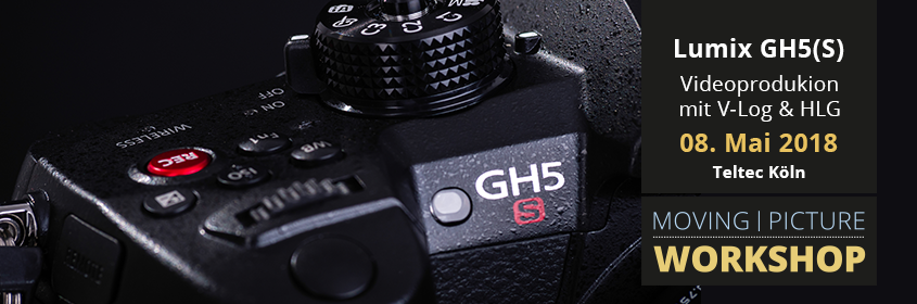 V-Log & Hybrid Log Gamma mit Panasonic GH5